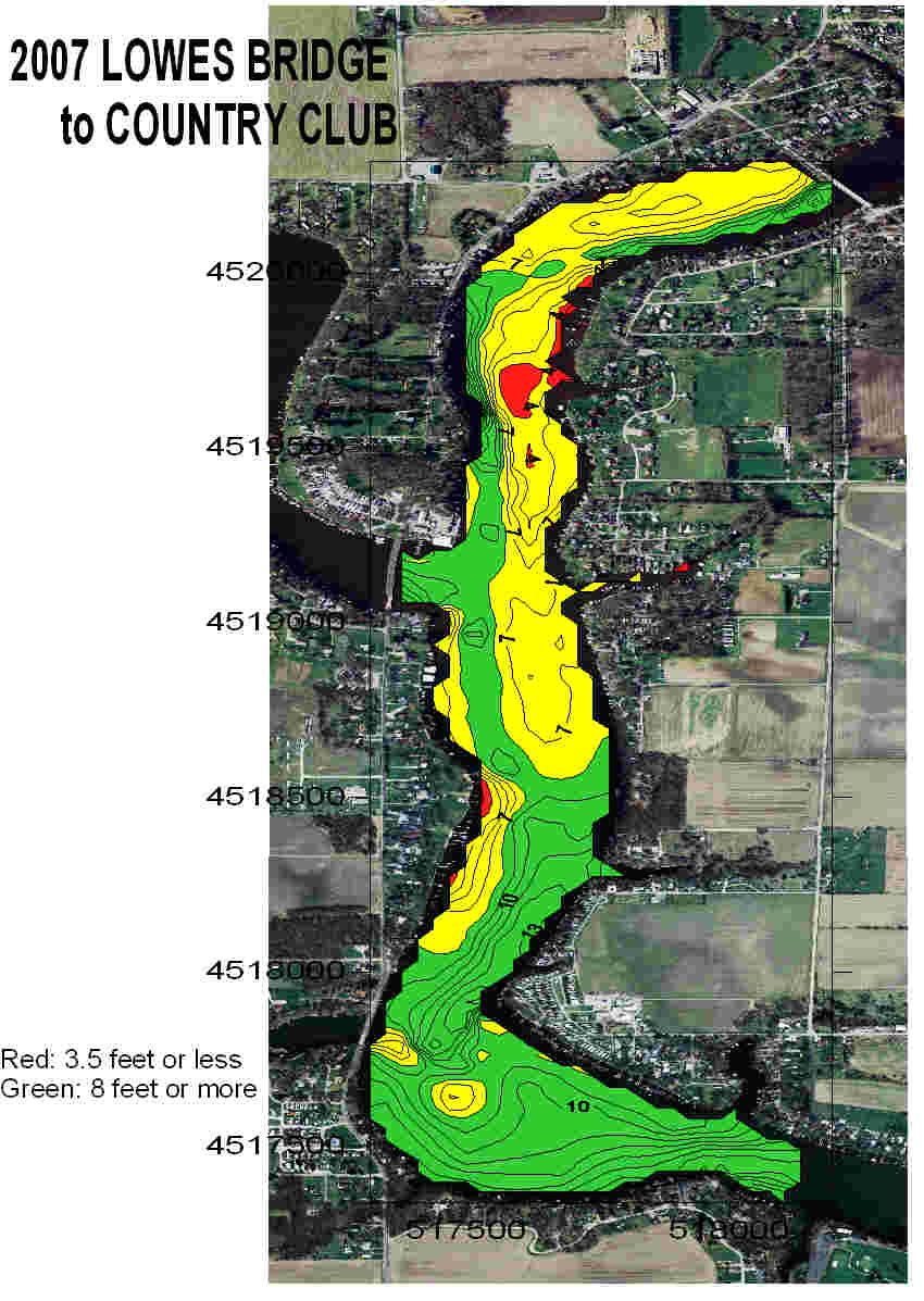 Depth Maps Shafer Amp Freeman Lakes Environmental