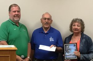 Pictured left to right: Jack Faker (Chamber Board President), Lee Kreul (SFLECC Board President), and Janet Dold (Chamber Executive Director)